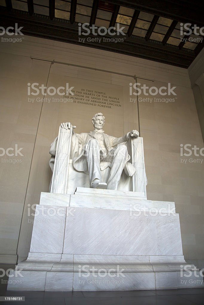Abraham Lincoln Memorial XXXL stock photo