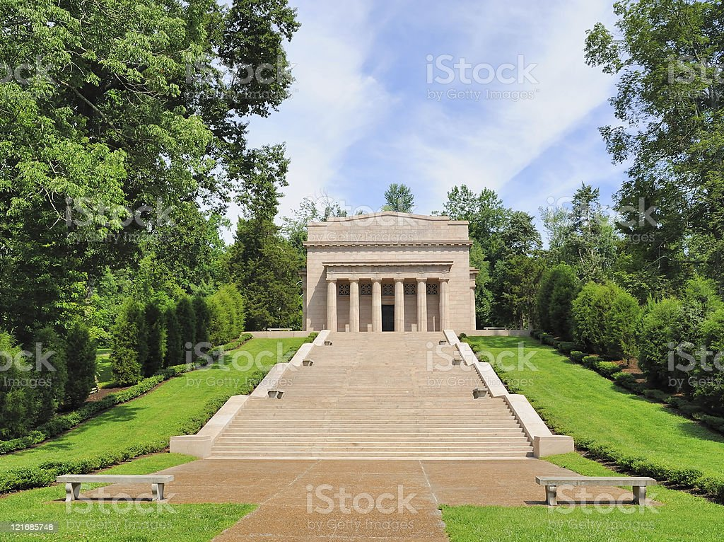 Abraham Lincoln's Birthplace stock photo