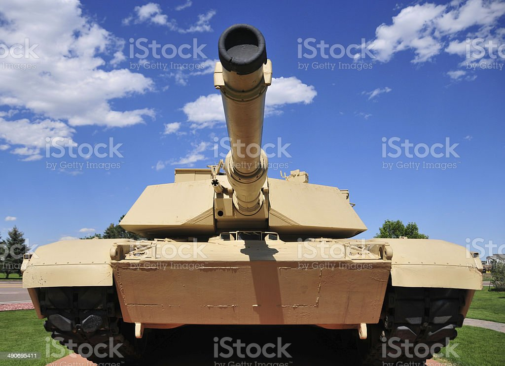 M1 Abrams tank stock photo