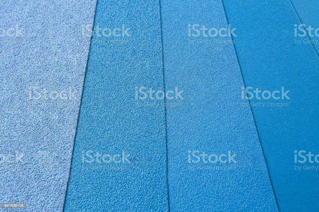 Abrasive blue 1 stock photo