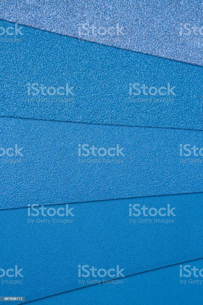 Abrasive blue 2 stock photo
