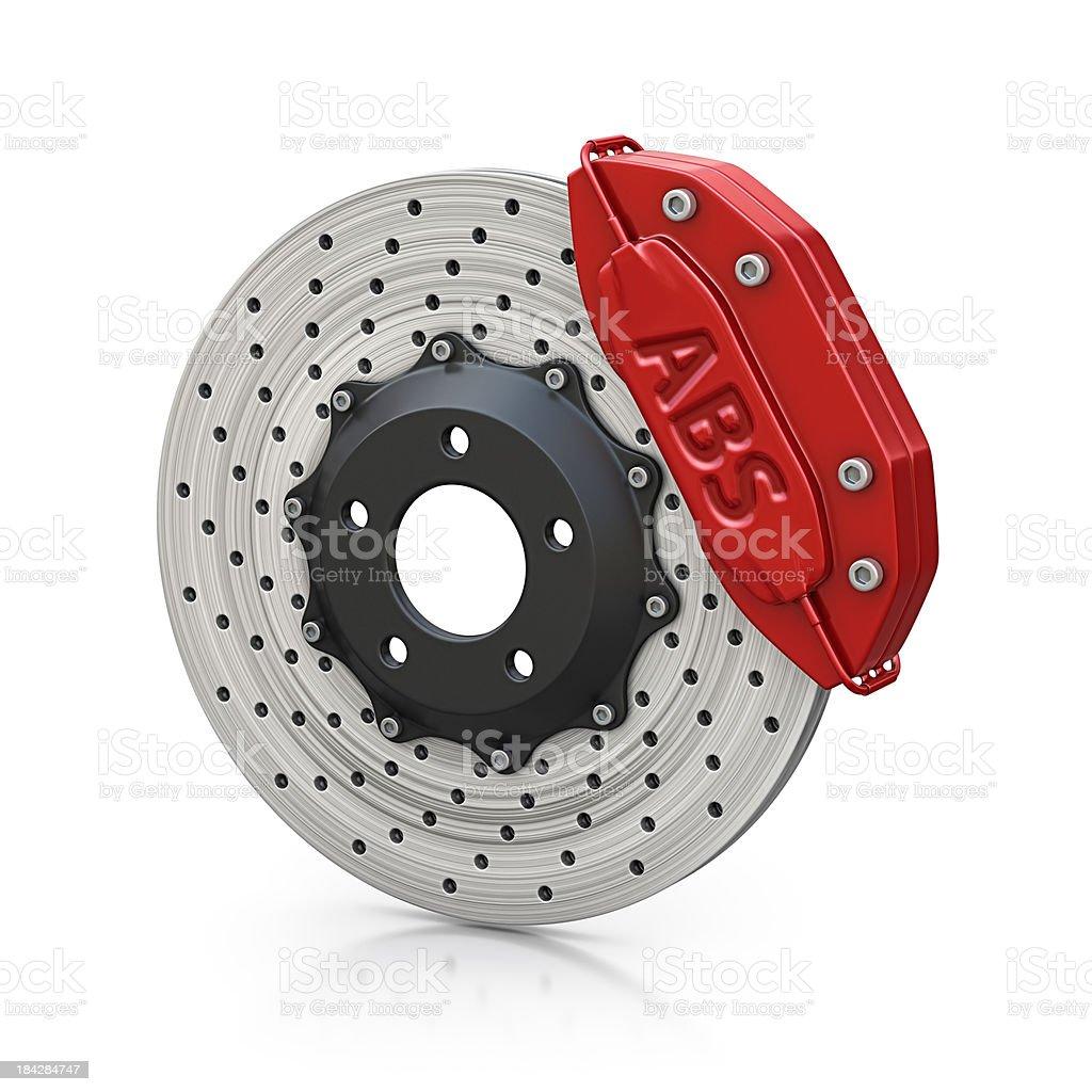 abs brakes royalty-free stock photo