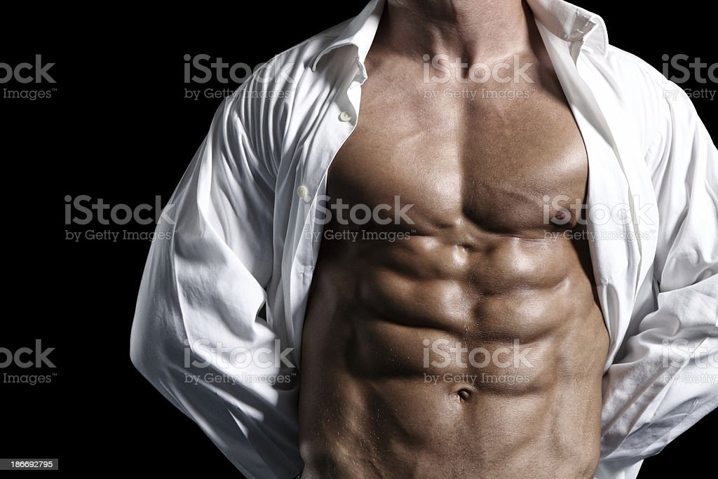 Abs perfection royalty-free stock photo