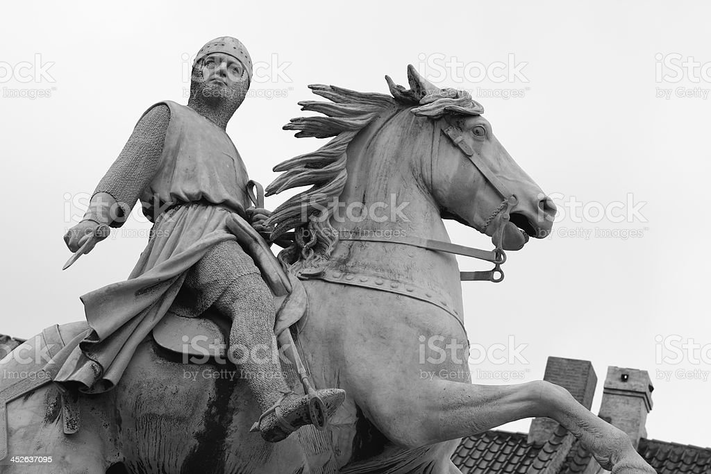 Absalon - bishop and warrior stock photo