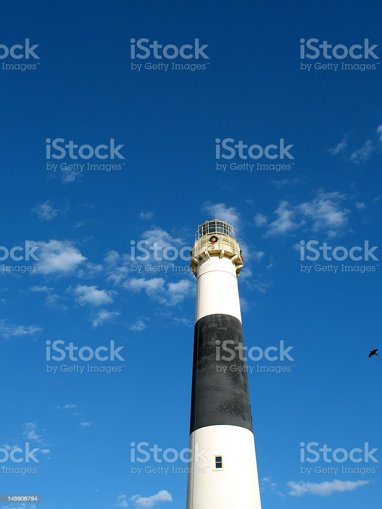 Absecon Lighthouse royalty-free stock photo