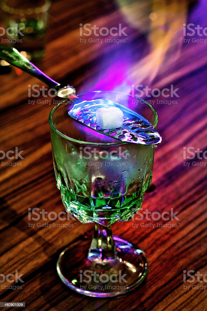Absinthe stock photo