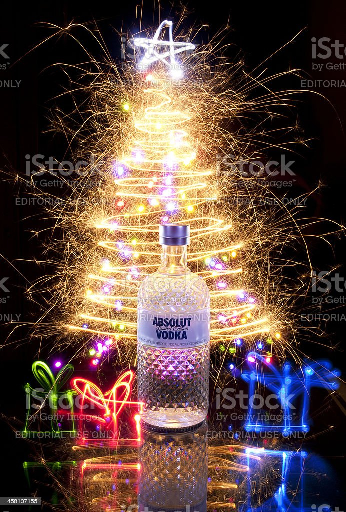 Absolut Glimmer stock photo
