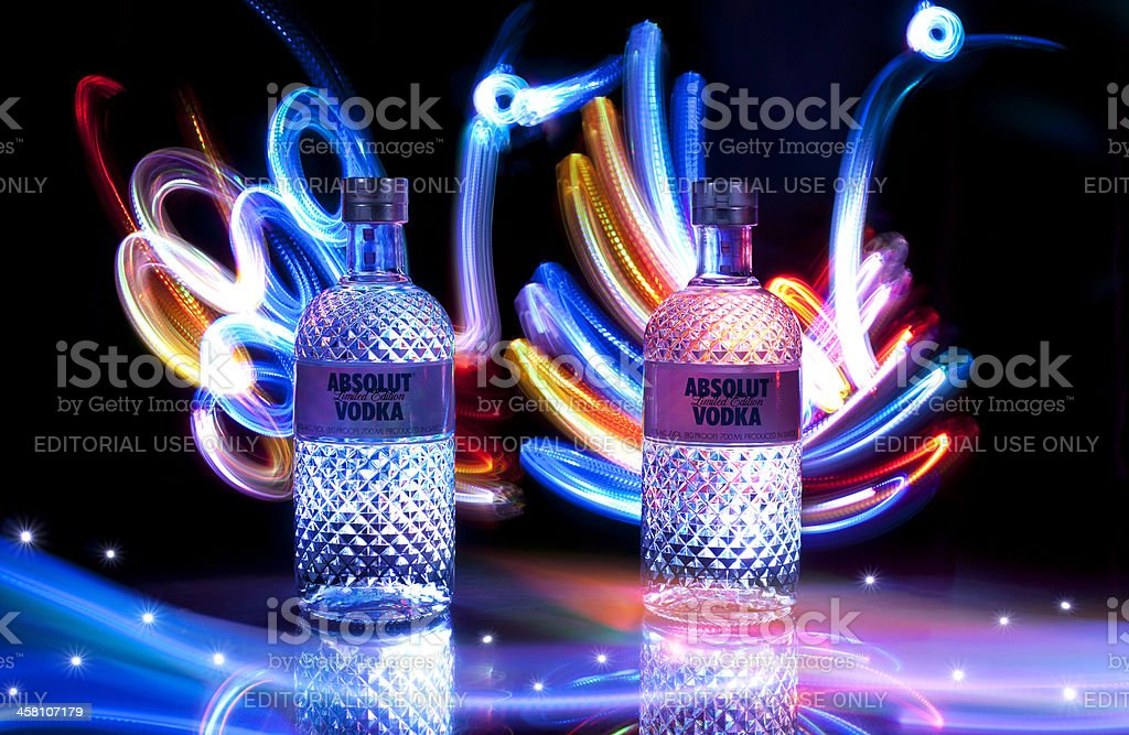 Absolut Glimmer royalty-free stock photo