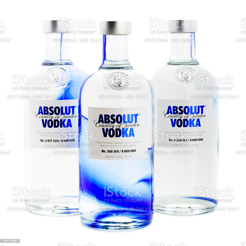 Absolut Vodka - Originality Edition stock photo