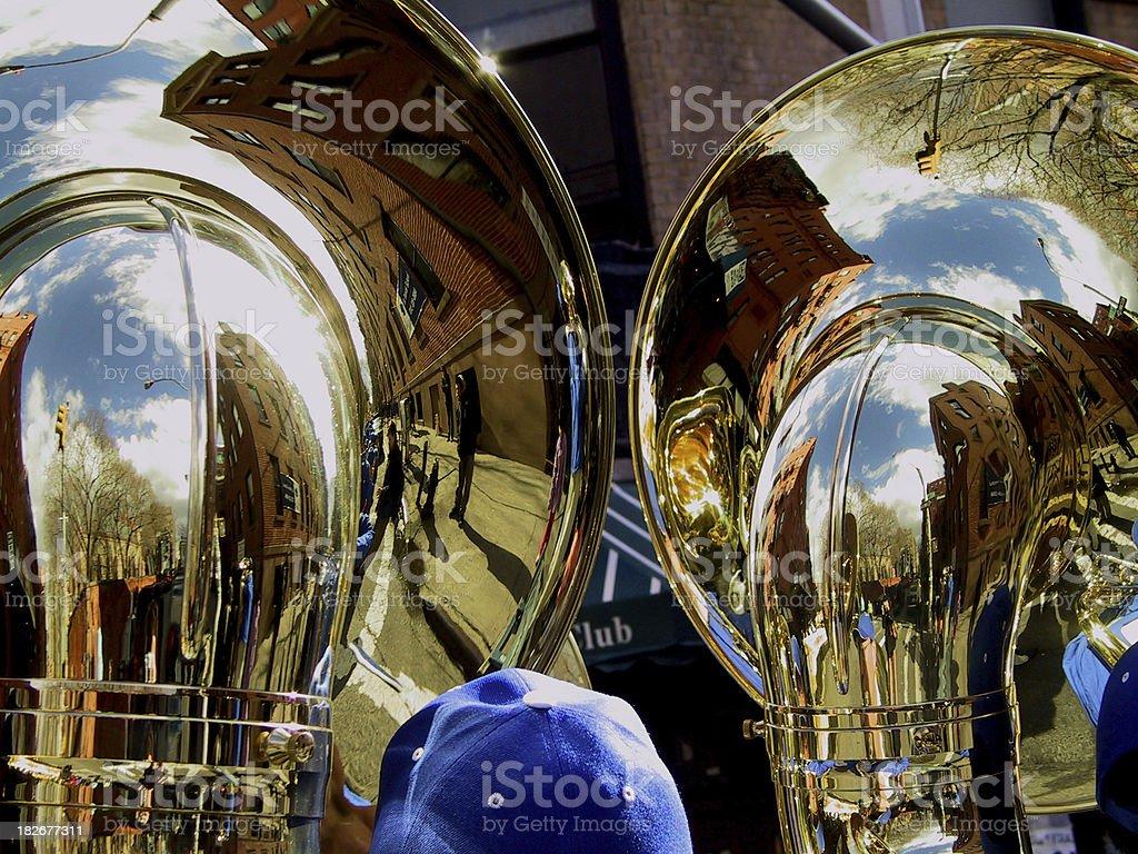 Absolute Brass stock photo