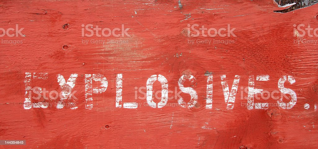 Absolute Danger royalty-free stock photo