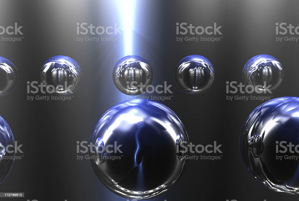 Absolute floatation 01 royalty-free stock photo
