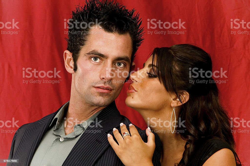 absolute sexy couple portraits royalty-free stock photo