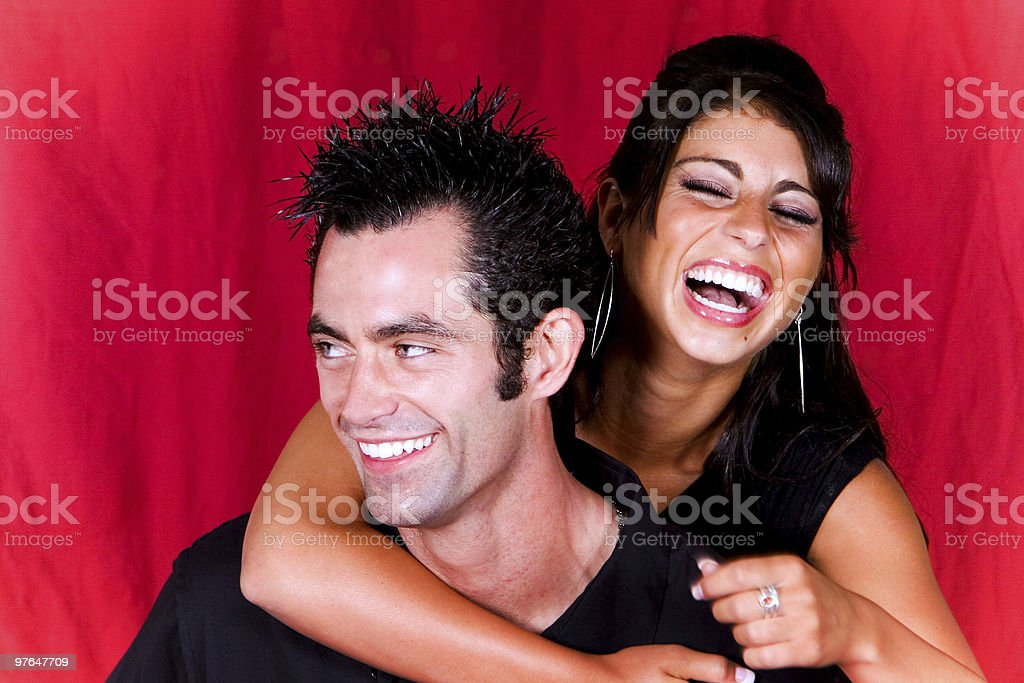 absolute sexy couple portraits stock photo