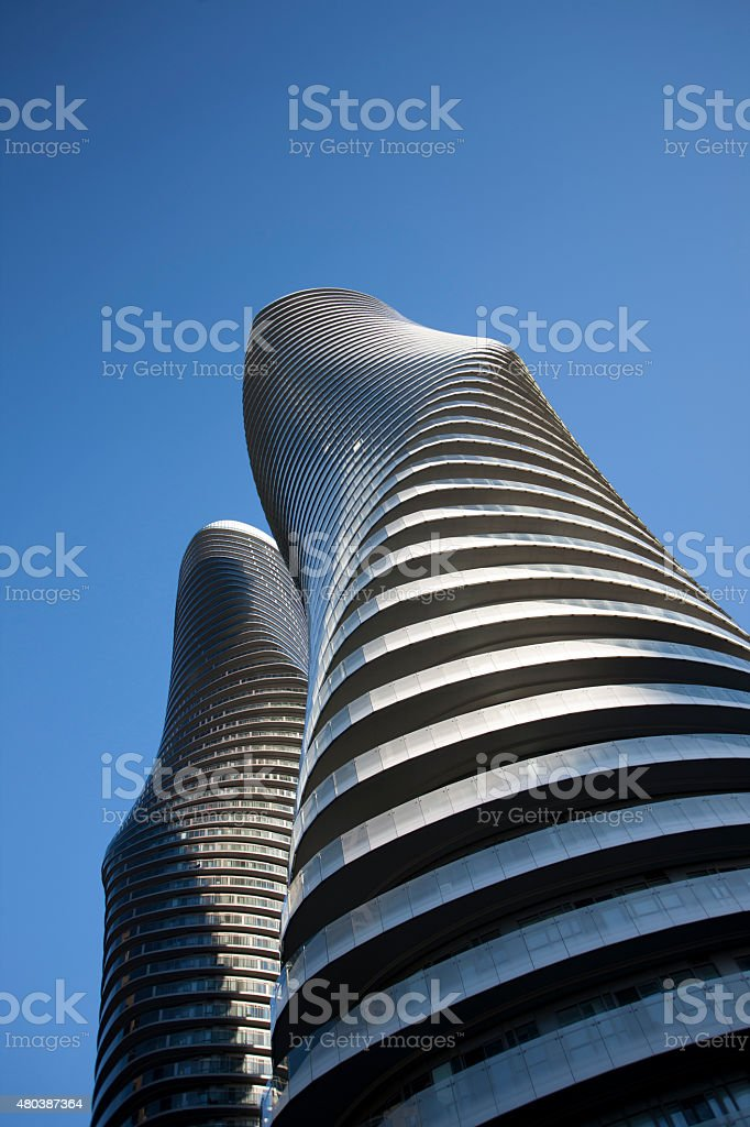 Absolute Towers Mississauga Toronto stock photo
