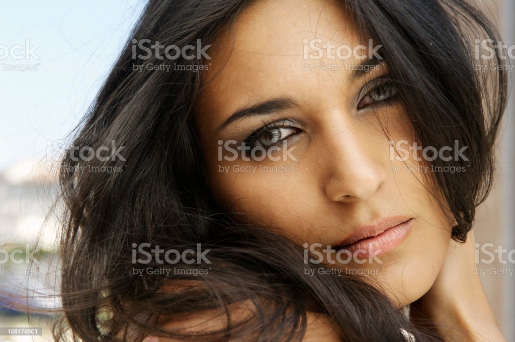 Absolutely french - model royalty-free stock photo