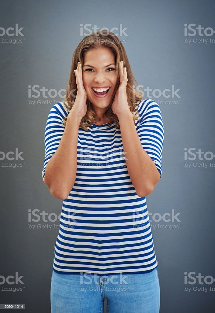 Absolutely unbelievable! stock photo