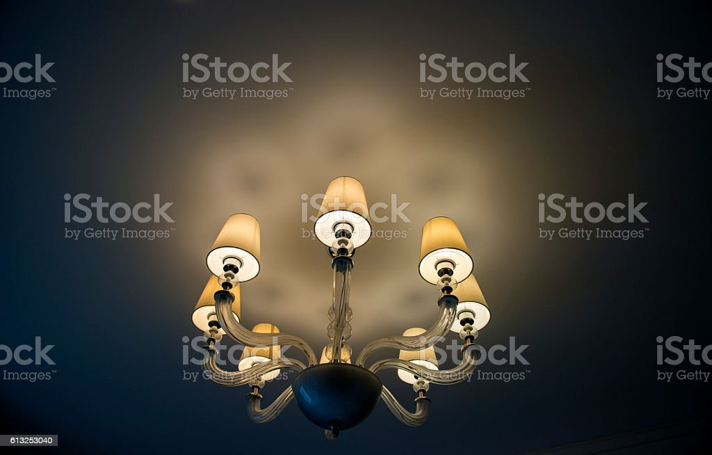 absorb dome light in a hotel stock photo