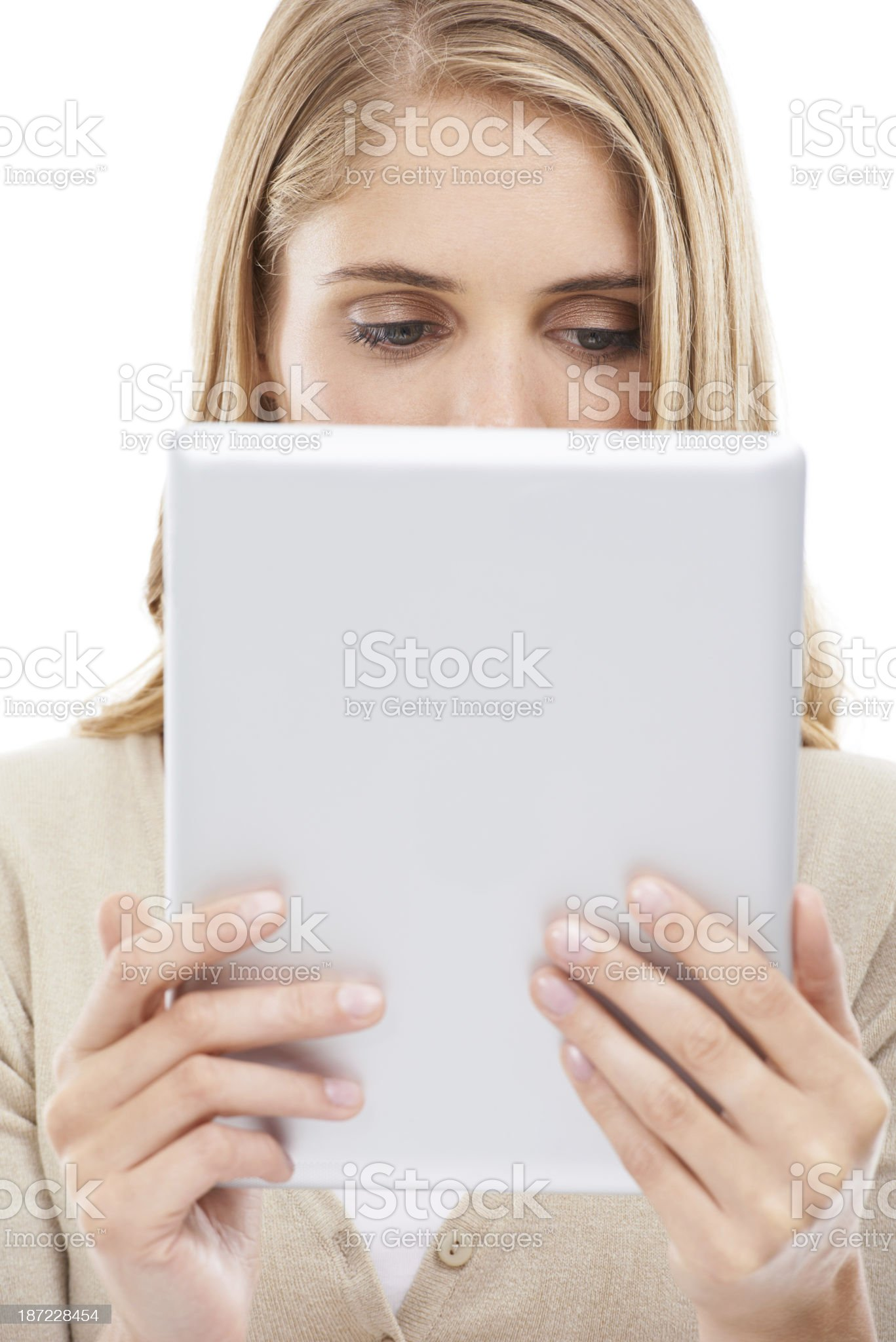 Absorbed by the web royalty-free stock photo