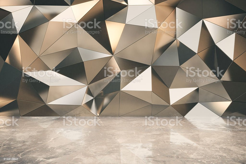 Abstact exterior with concrete floor stock photo