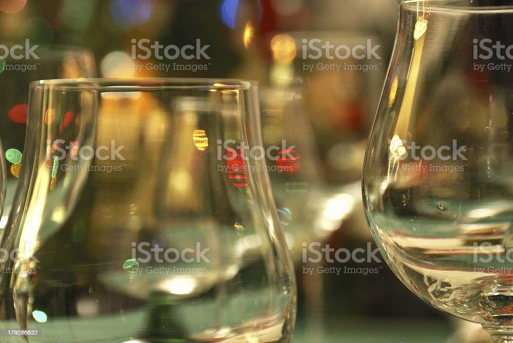Abstaract wine glass royalty-free stock photo