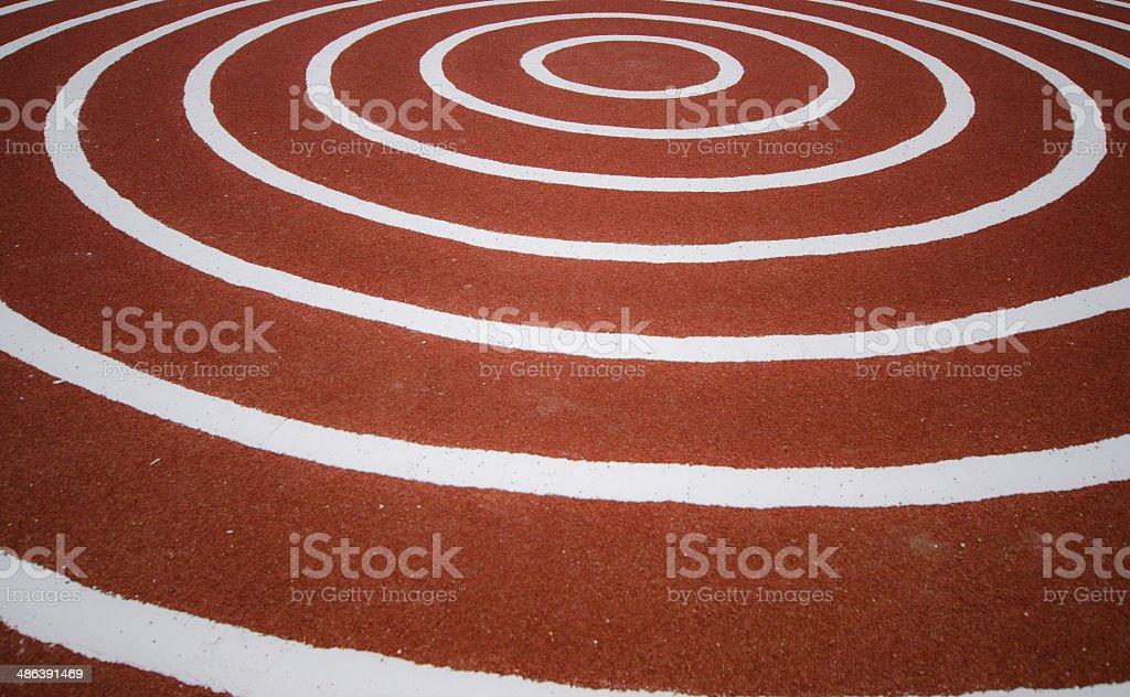 Abstarct  serpentine, running rug stock photo