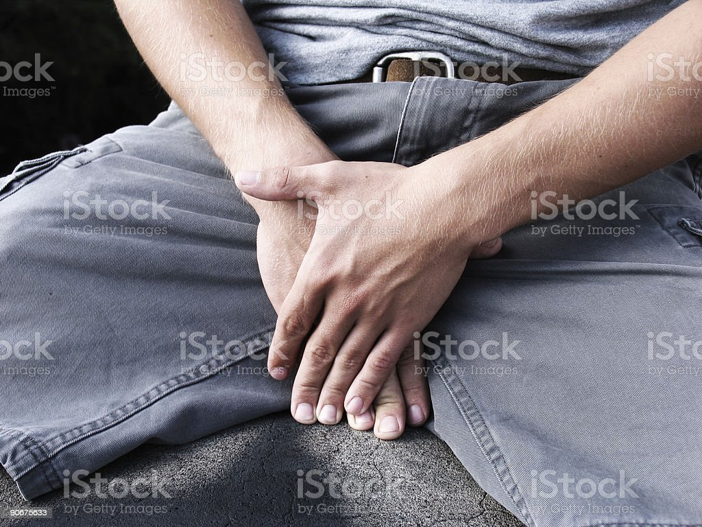 Abstinence royalty-free stock photo