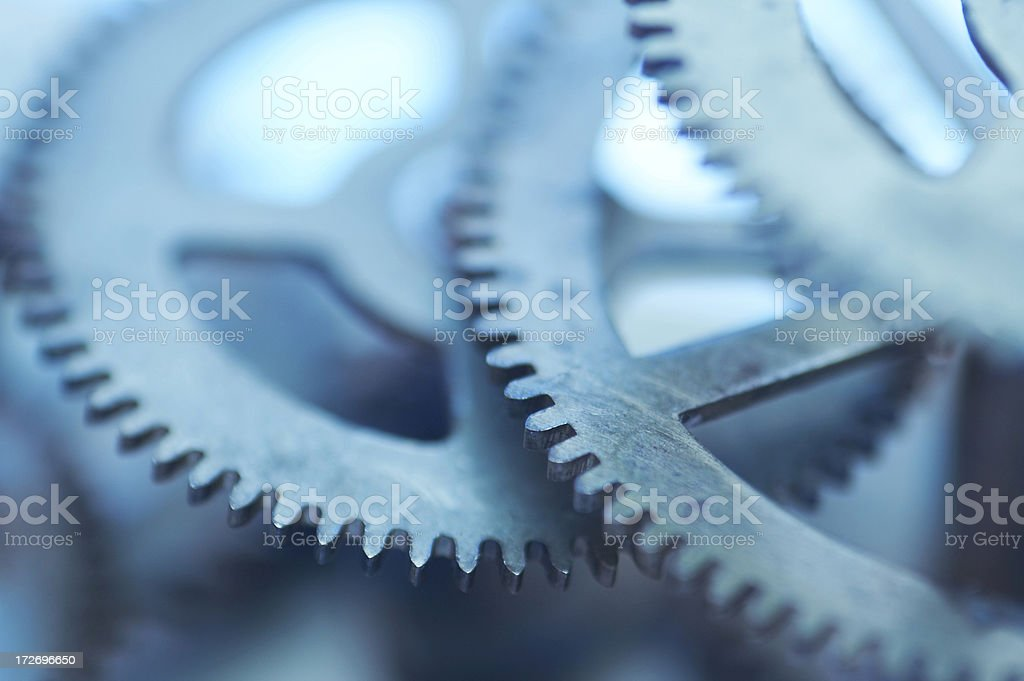 abstrack clockwork background royalty-free stock photo