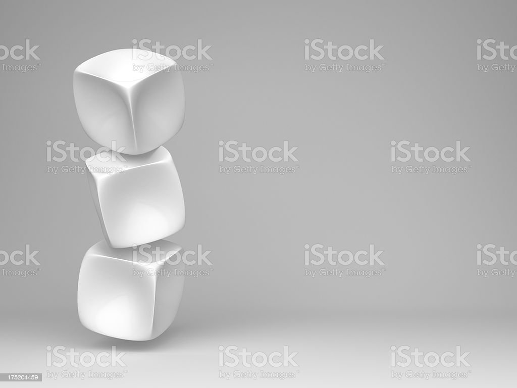 abstract 3d boxes design background royalty-free stock photo