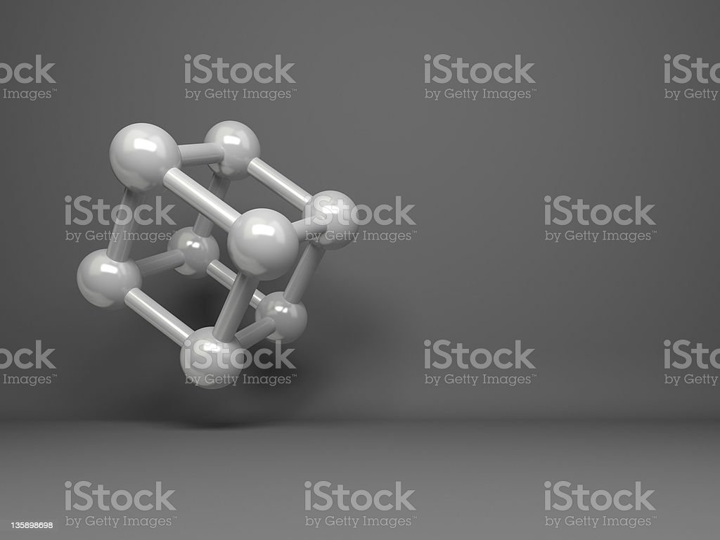 abstract 3d cube design background royalty-free stock photo
