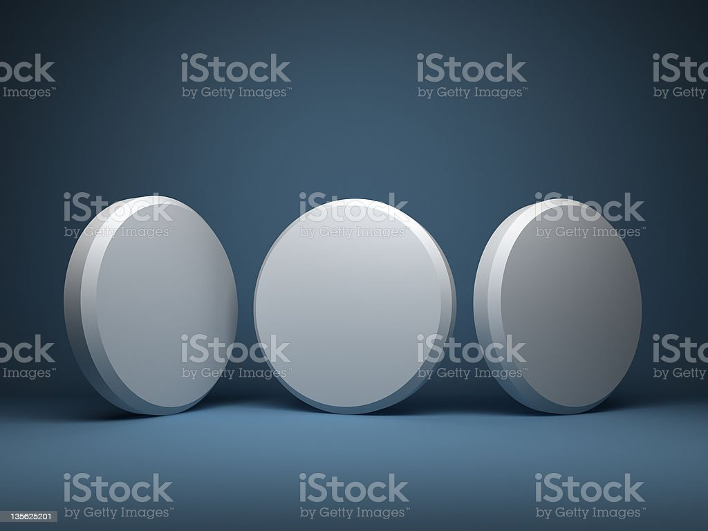 abstract 3d cylinders design background stock photo
