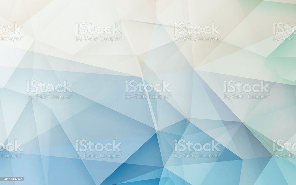 Abstract 3D geometric monotonr Retro origami background nature tone stock photo