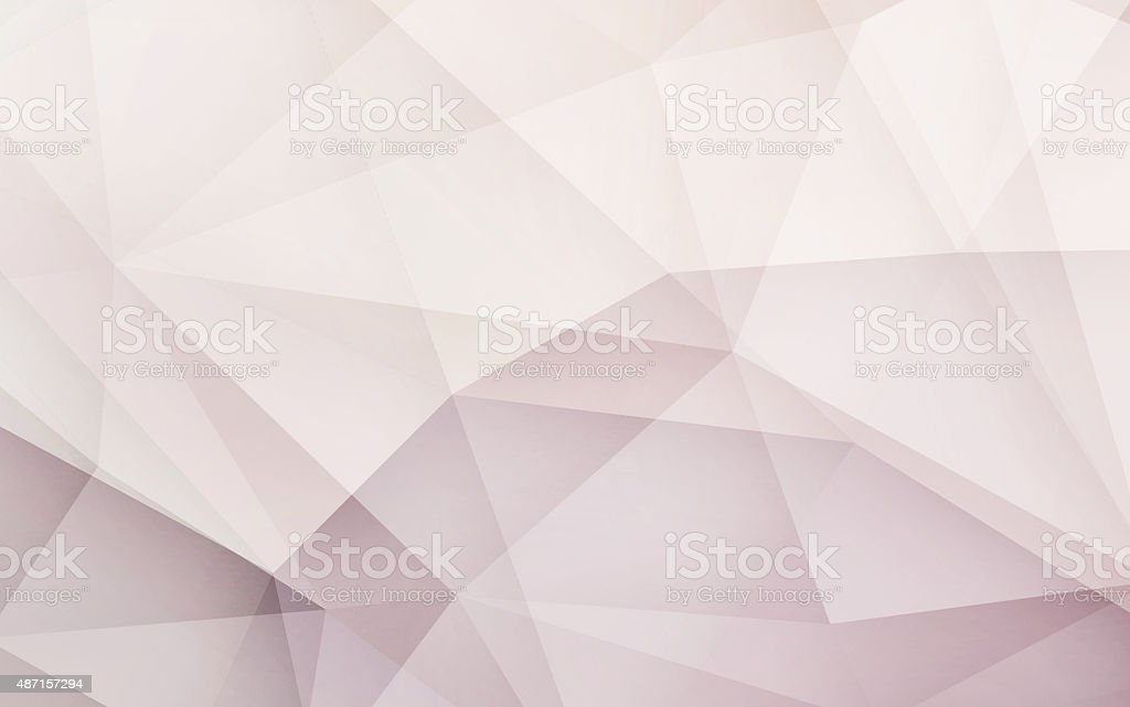 Abstract 3D geometric monotonr Retro origami background nature tone stock photo
