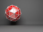 abstract 3D network concept