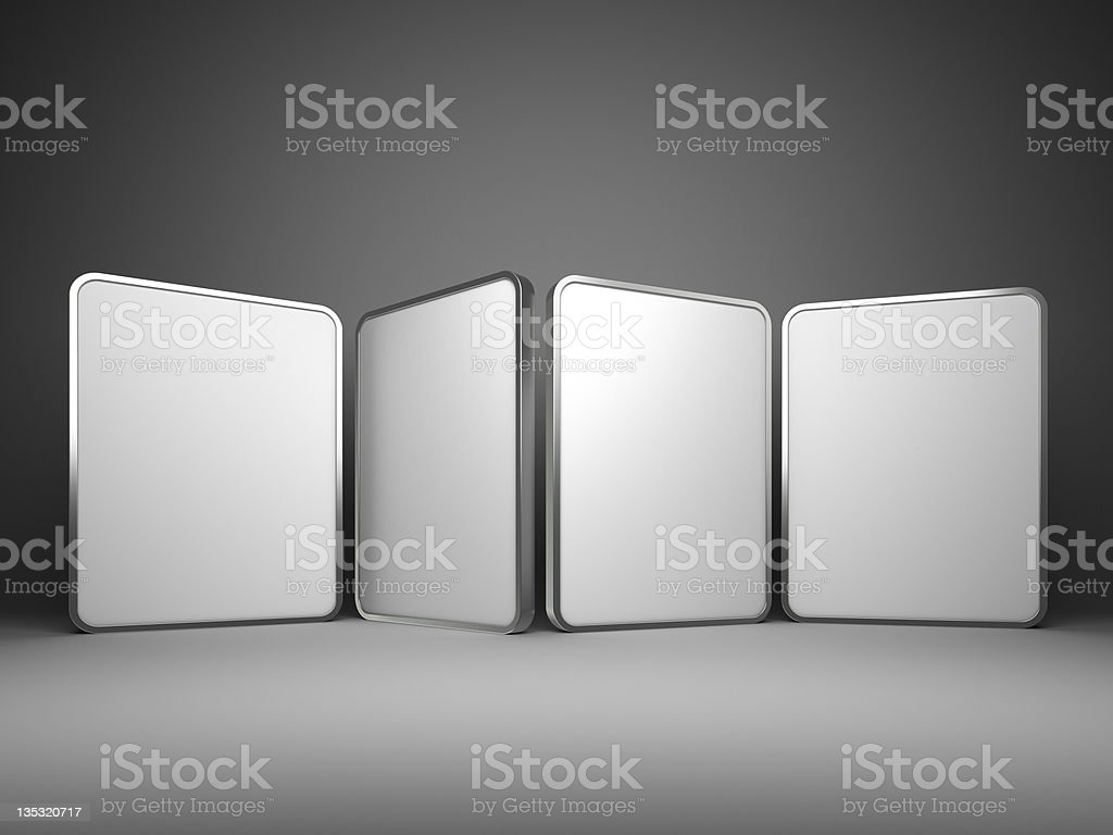 abstract 3d rectangles design background royalty-free stock photo