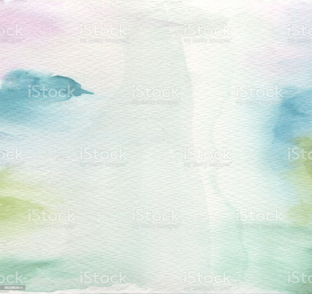 Abstract acrylic and watercolor painted background. Texture paper . stock photo