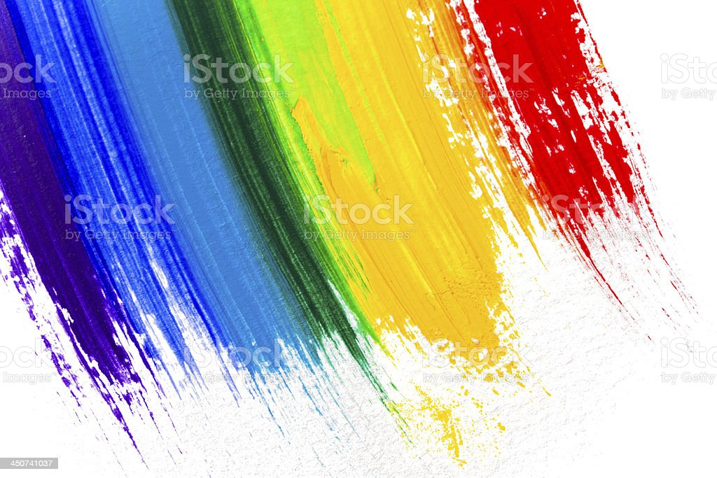 Abstract acrylic colors stock photo