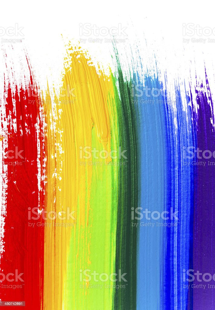Abstract acrylic colors royalty-free stock photo