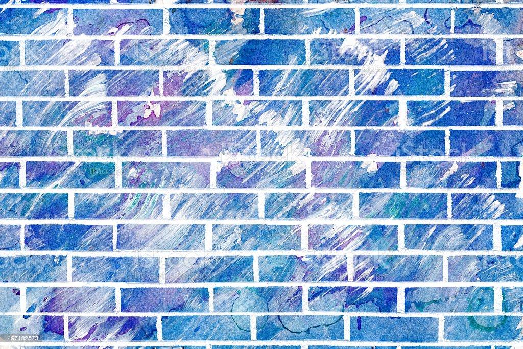 Abstract Acrylic Wall royalty-free stock photo