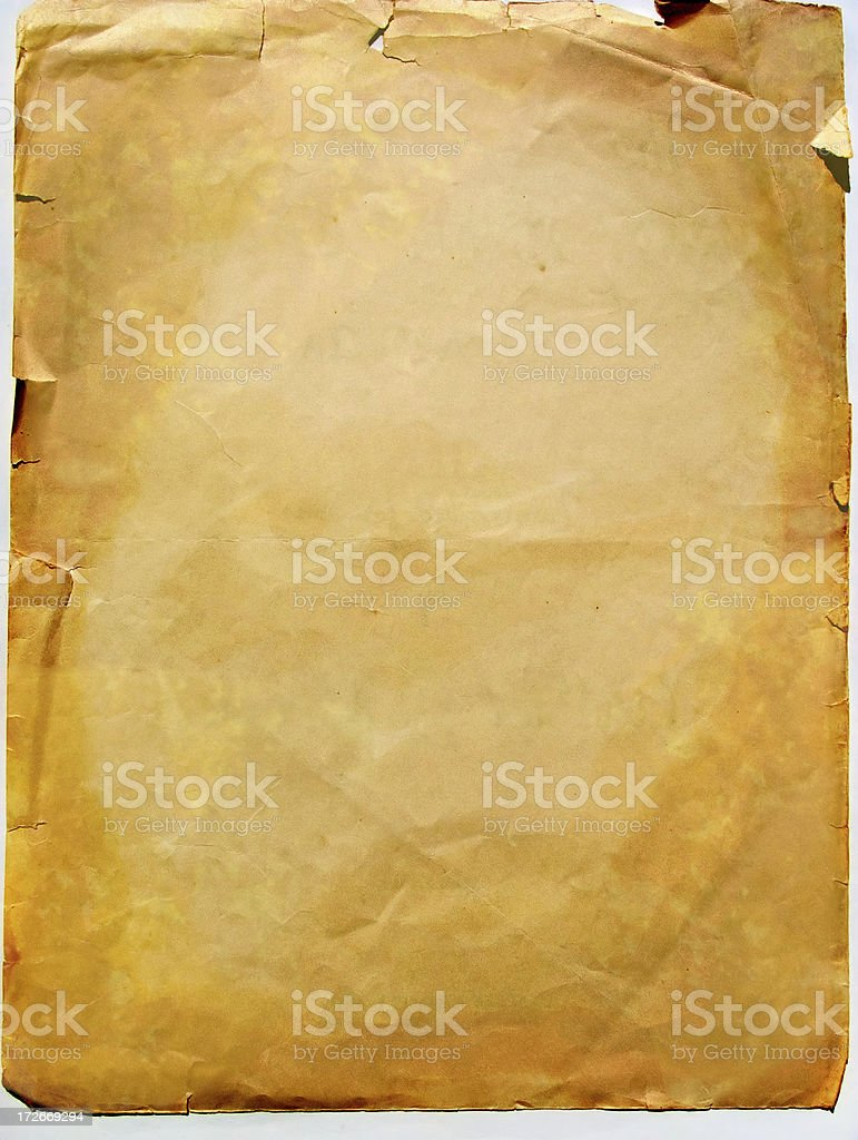 abstract aged paper royalty-free stock photo