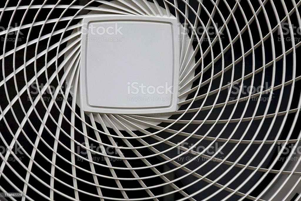 Abstract Air conditioner Grille stock photo