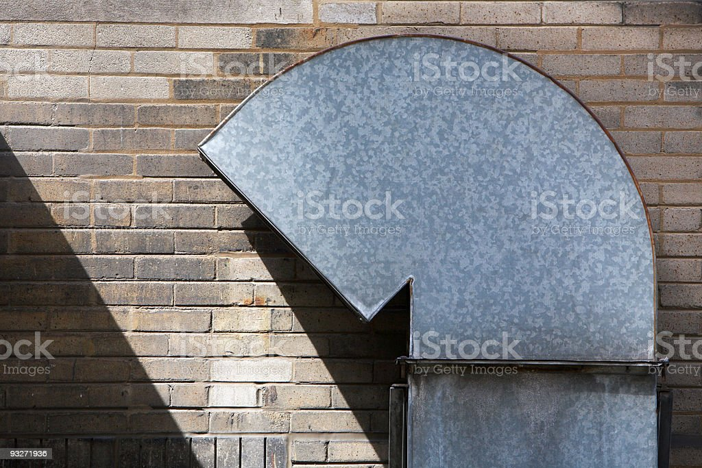 Abstract Alley stock photo