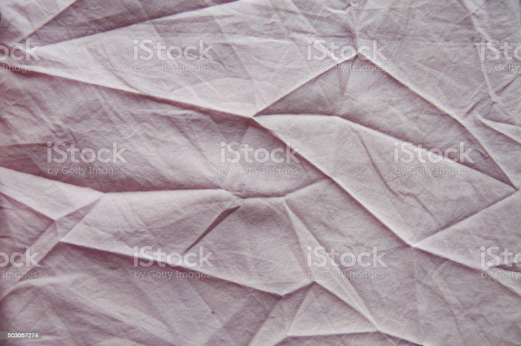 Abstract Angular Fold Patterns In A Fabric Background stock photo
