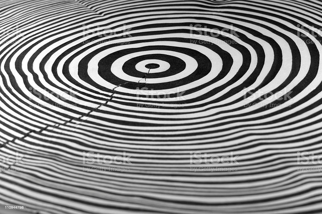 abstract annual rings royalty-free stock photo