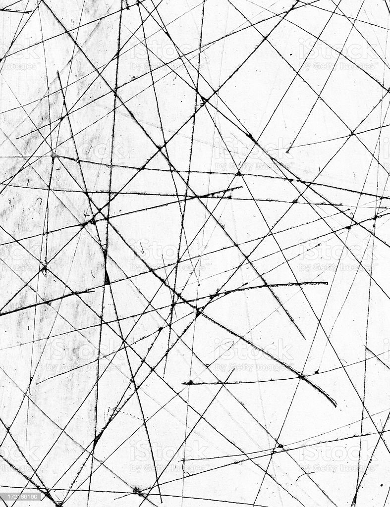 Abstract Anolog Scratches stock photo