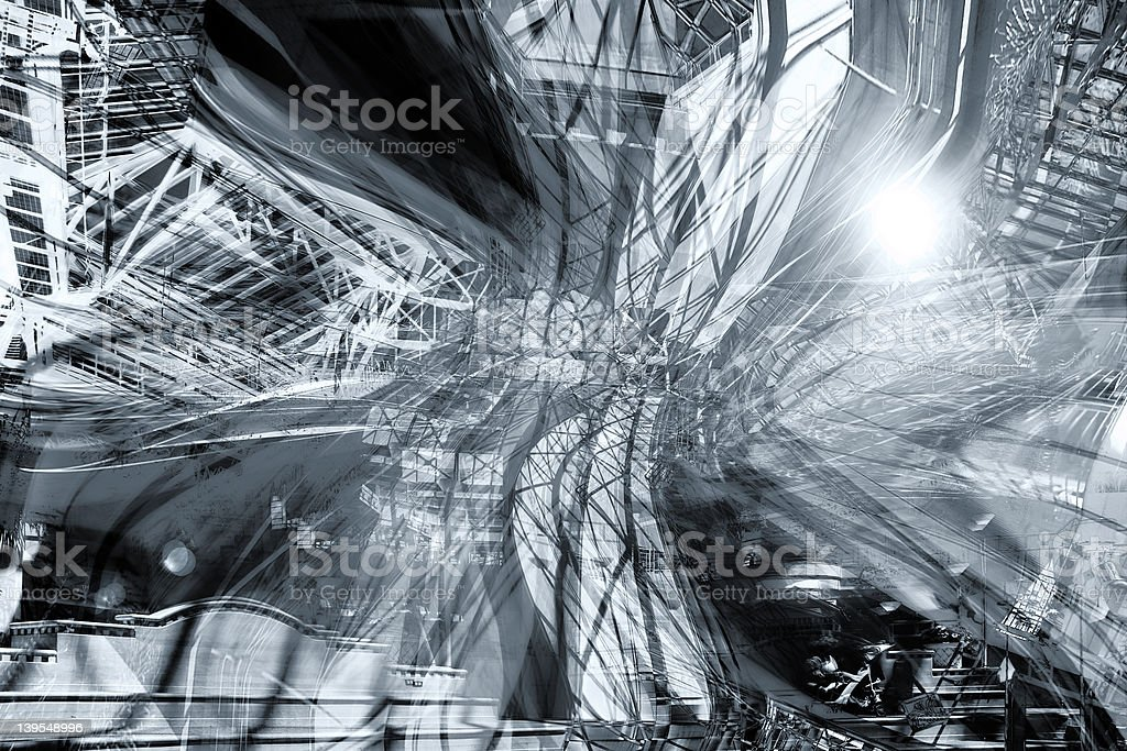 Abstract Architectural Background stock photo