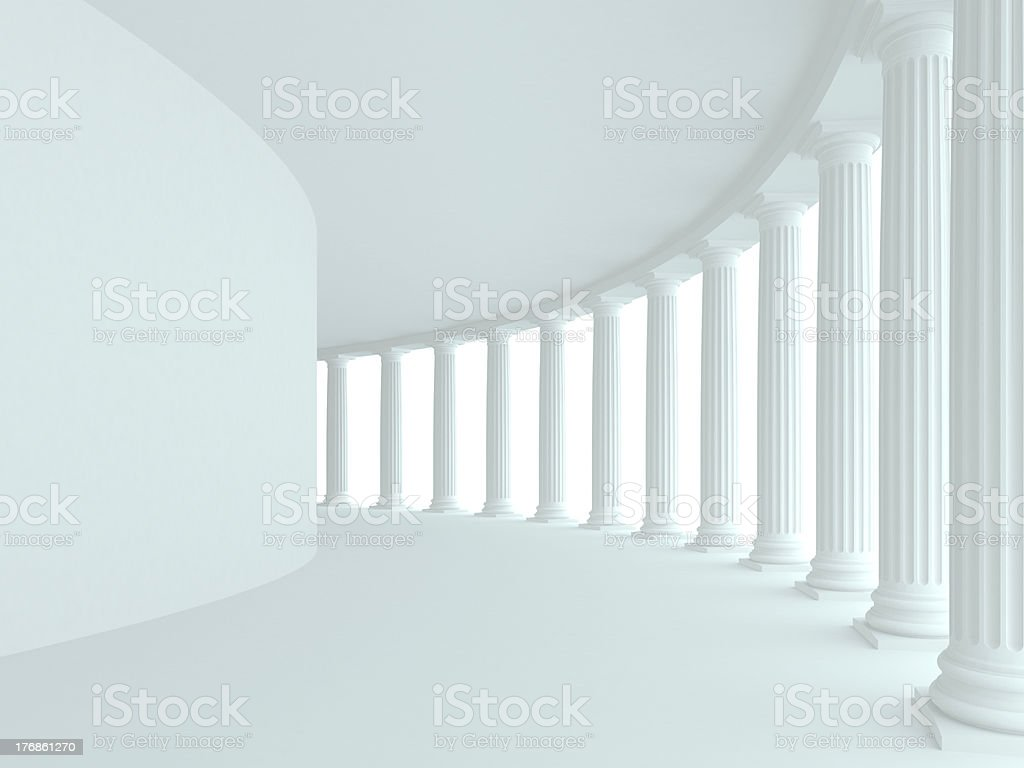 Abstract architectural background royalty-free stock photo