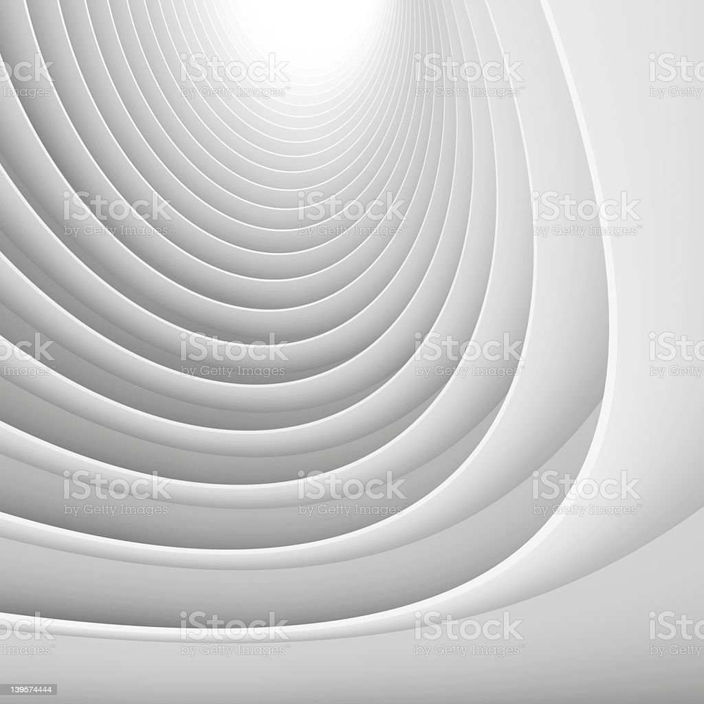Abstract Architectural Shape royalty-free stock photo