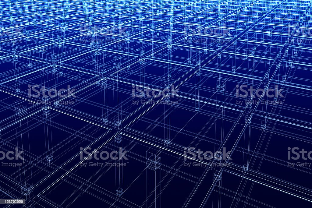 abstract architectural surface royalty-free stock photo