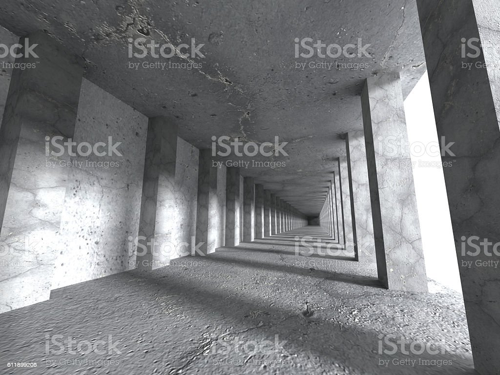 Abstract architecture background. Concrete construction stock photo